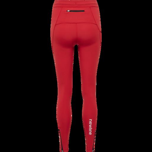 WOMEN CORE TIGHTS, TANGO RED, packshot