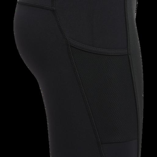 WOMEN CORE WARM PROTECT TIGHTS, BLACK, packshot