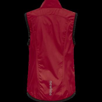 WOMEN CORE GILET, TANGO RED, packshot