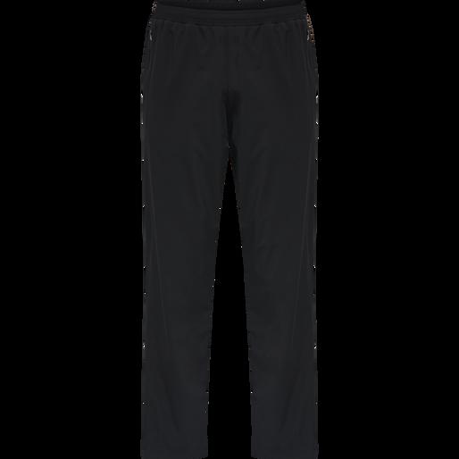 MEN CORE PANTS, BLACK, packshot