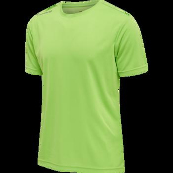 MEN CORE FUNCTIONAL T-SHIRT S/S, GREEN FLASH, packshot