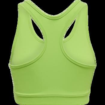 WOMEN CORE ATHLETIC TOP, GREEN FLASH, packshot