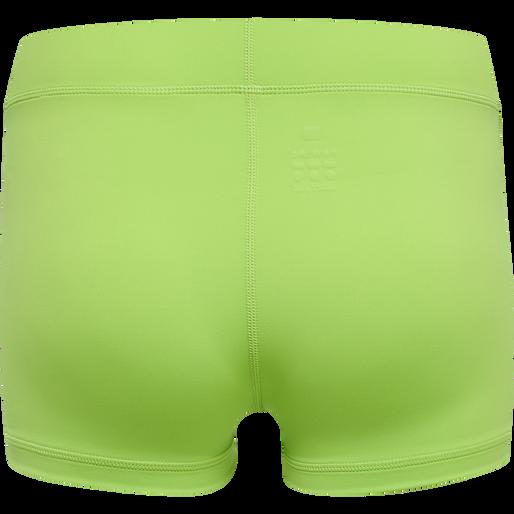 WOMEN CORE ATHLETIC HOTPANTS, GREEN FLASH, packshot